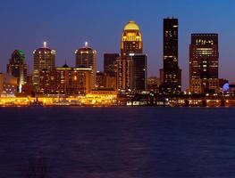 Louisville skyline foto
