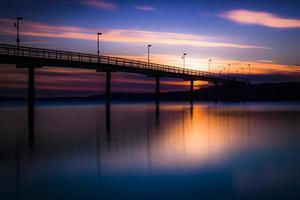 marina zonsondergang