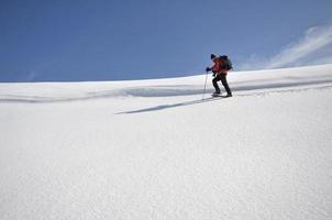 bergbeklimmen foto