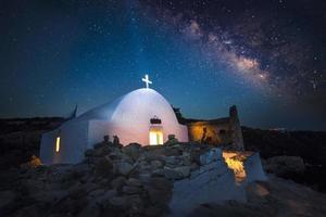 Melkweg Rhodos foto