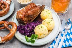 Beierse maaltijd foto