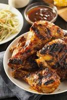 zelfgemaakte gegrilde barbecue kip
