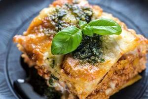lasagne met pesto foto