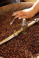 koffiebrander foto