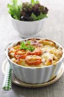 macaroni en kaas foto
