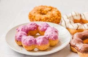 geglazuurde donuts foto