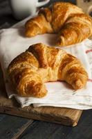 zelfgemaakte Franse croissants