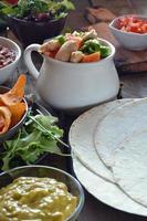 typische gerechten uit mexico foto