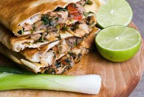 Mexicaanse quesadilla's