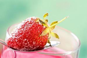 aardbeiensmoothie foto