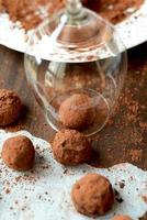handgemaakte truffels foto