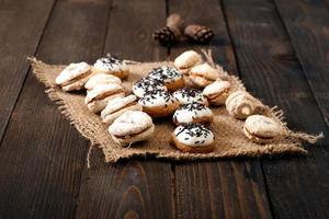 chocolade koekjes foto
