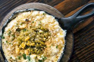 macaroni met kaas foto