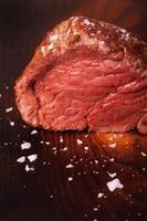 gegrilde Scotch steak foto