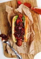 hotdog foto