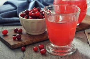 cranberry sap foto