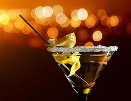 cocktail met citroen foto