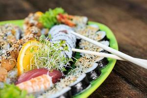 verse sushi close-up foto