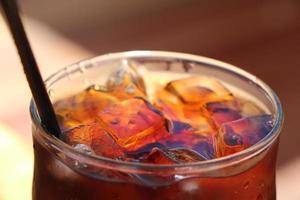 ijskoude cola foto