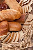 brood en tarwe. foto