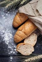 rue brood met zemelen foto