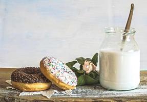 donuts stilleven foto