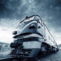 vintage trein foto