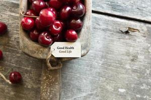 goede gezondheid goed leven idee. foto