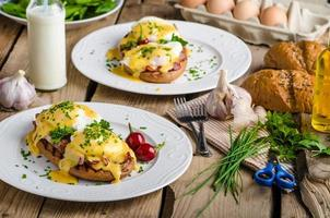 Eggs Benedict foto