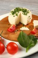 kaas en groenten. voorgerecht serie. foto