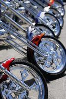 aangepaste motorfietsen foto