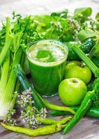 gezond groen sap foto