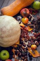 herfst frame achtergrond foto