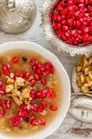 Turkse dessert ashura foto