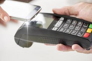 mobiele betaling foto
