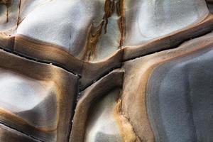 rotswand close-up foto