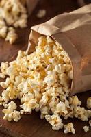 zelfgemaakte waterkoker mais popcorn