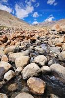 Shyok rivier foto