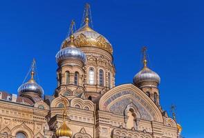 aanname kerk, Vasilevsky-eiland, Sint-Petersburg foto