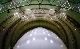 luchtschip constructie foto