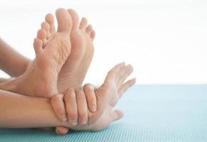 yoga uitrekken foto