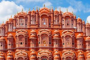 hawa mahal paleis (paleis van de winden) in jaipur, rajasthan foto