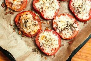 gebakken tomaten foto