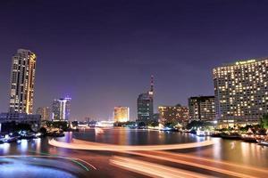 bangkok uitzicht bruggen. foto