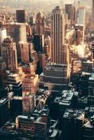 New York City wolkenkrabbers foto