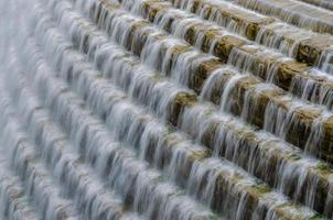 waterval bij croton stuwmeer foto
