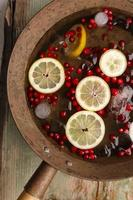 cranberry lemon punch foto