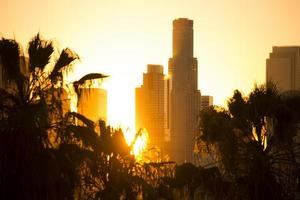 het centrum van Los Angeles