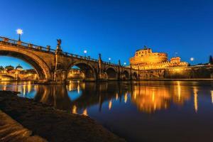 castel sant'angelo, rome foto