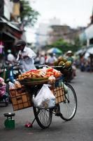 straatmarkt foto